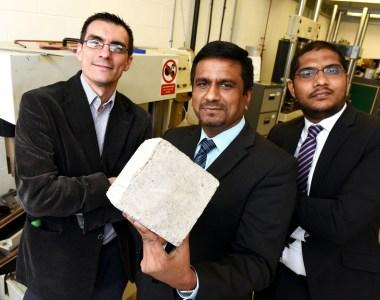 Teesside University Academics Preparing Self-Healing Concrete