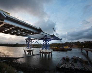 New bridge for Sunderland well under way.