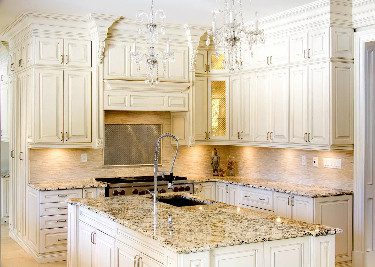 premiergranitecountertop granite countertops kitchen Kitchen White