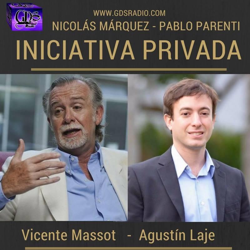 Radio: reportajes a Vicente Massot y Agustin Laje (imperdible).