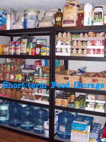 short term food supply