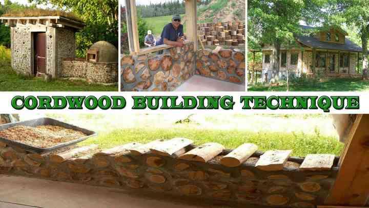 Cordwood building - An old-school building technique