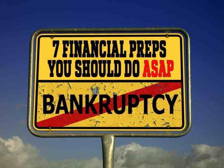 7 Financial Preps You Should Do ASAP