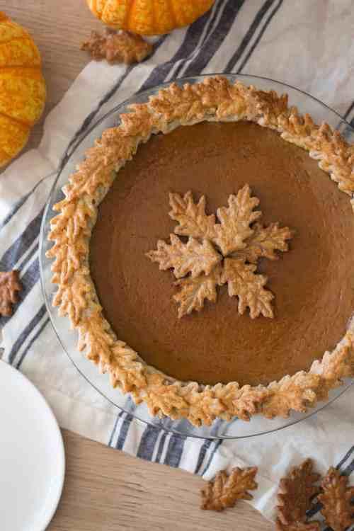 Medium Of Pumpkin Pie Cake