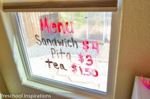 Window Wall by Preschool Inspirations