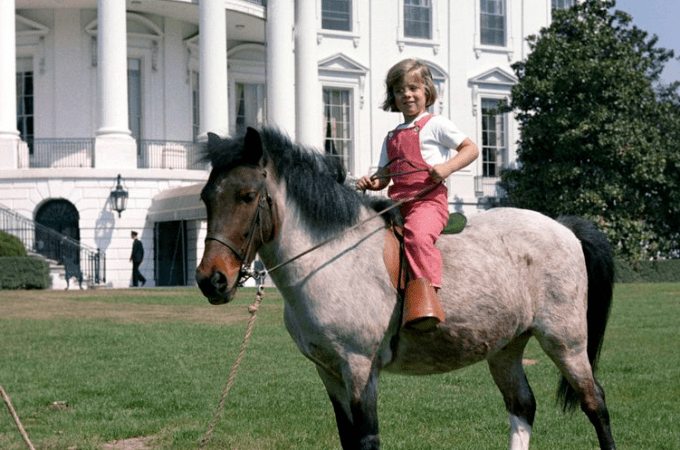 Macaroni, Caroline Kennedy's Pony