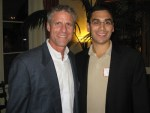 Karch Kiraly with Round Table Board Member and Fall Classic organizer Arthur Muñoz