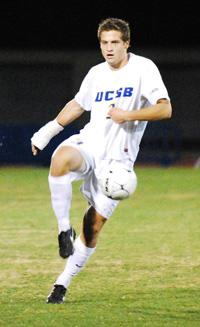 Senior David Walker scored in his third straight NCAA playoff game at UCLA's Drake Stadium on Sunday. (Photos by John Dvorak/PresidioSports.com)