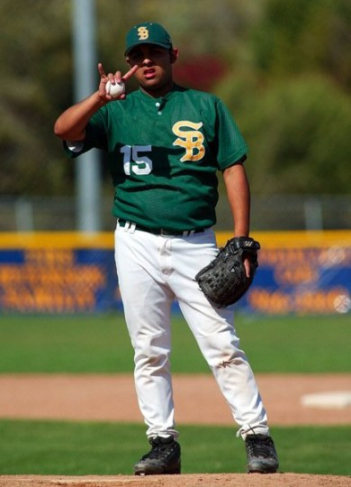 Simon Chavez contributed to the Santa Barbara High baseball program for much of his life. (James Sinclair Photo)