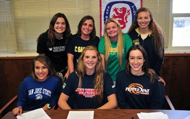 Local student-athletes make college commitments