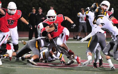 Beast-mode Cardinals beat Newbury Park, 53-47