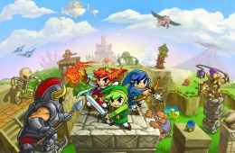 The Legend of Zelda Tri Force	 Heroes  illu1