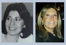 Zeynep during her fellowship in 1986 and today.