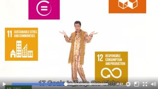 外務省がピコ太郎さんを広告塔に登用した持続可能な開発目標(SDGs)の動画に賛否両論