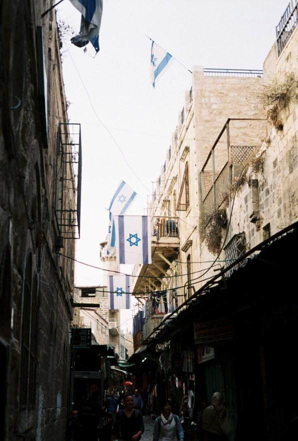 jedna z uliczek jerozolimy