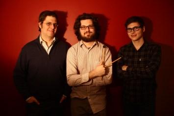 Ian Hattwick, Zachary Hale, and Preston Beebe