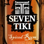 Seven Tiki™ Backlit Sign