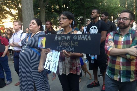 Black Lives Matter organizers hold rally in D.C. for black trans women