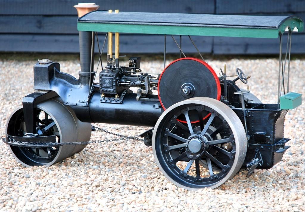 2 Inch Scale BURRELL Steam Roller