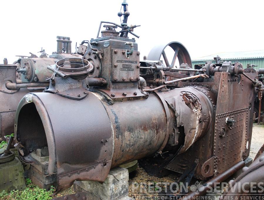 CLAYTON & SHUTTLEWORTH Traction Engine