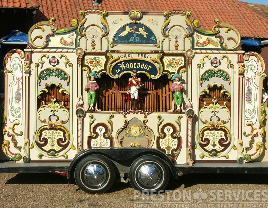 """CARL FREI """"De Hagenaar"""" 90 Key Dutch Street Organ"""