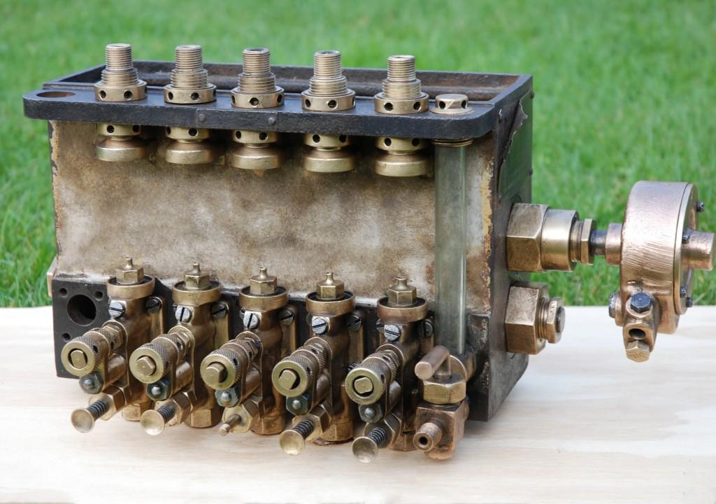 WAKEFIELD 5 Feed Mechanical Cylinder Lubricator