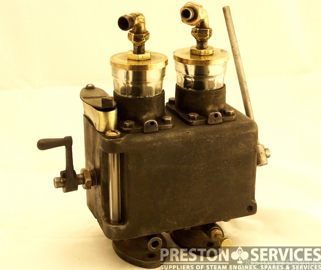 MARSHALL Road Locomotive Type, Twin Feed Mechanical Cylinder Lubricator