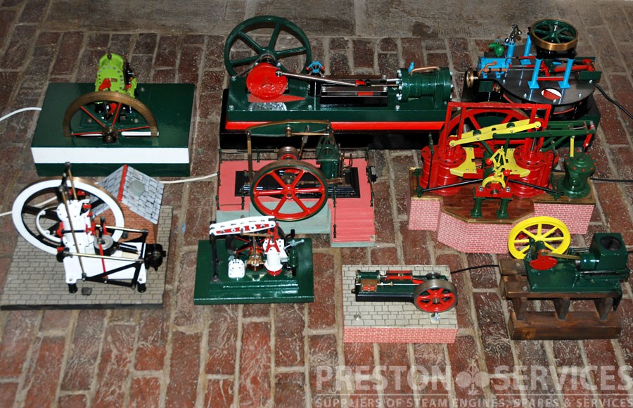 Collection of Model Steam Engines