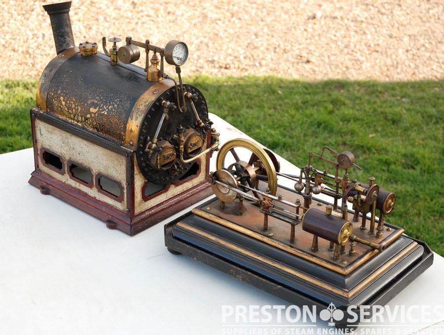 Antique Working Steam Plant