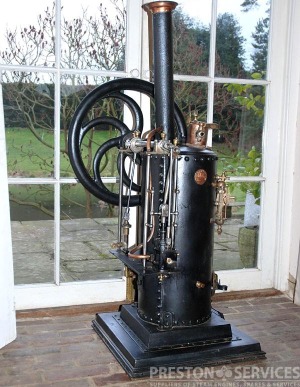 RADIGUET Workshop Steam Engine, c1880