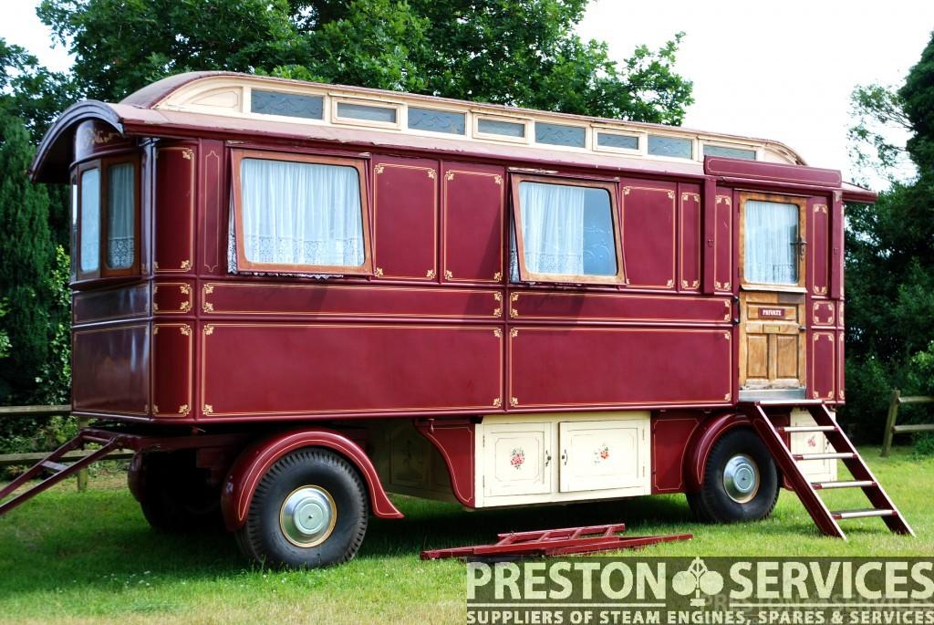 20 Ft Showmans Living Van