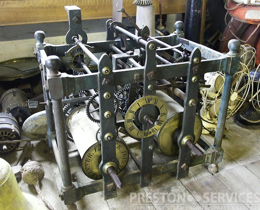 "1815 ""WATERLOO"" Turrett Clock"