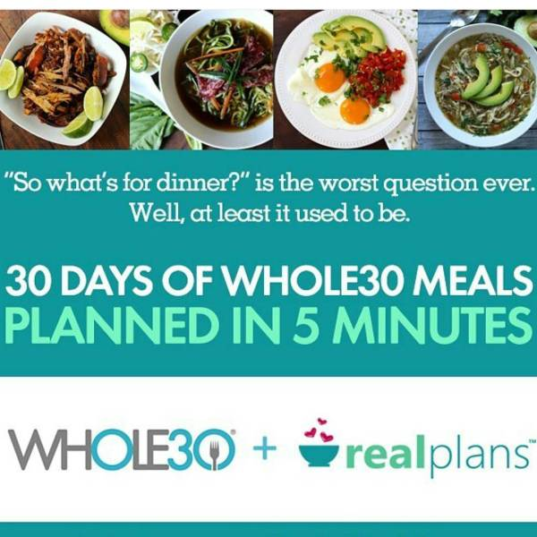 Did you hear that whole30 has teamed up with realplanshellip