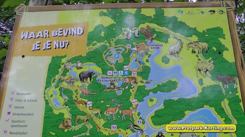 Safaripark Beekse Bergen korting trip report blog plattegrond