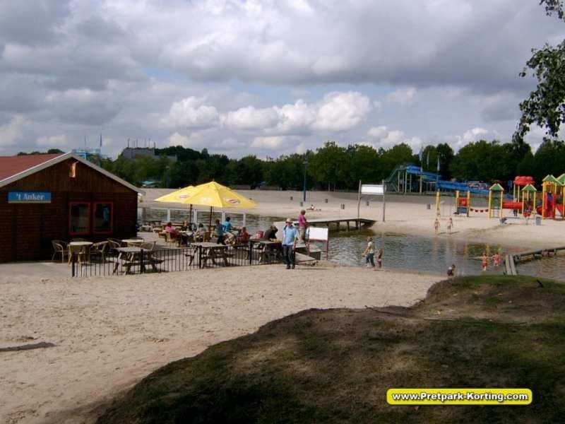 Speelland Beekse Bergen trip report - strand en zwemmeer