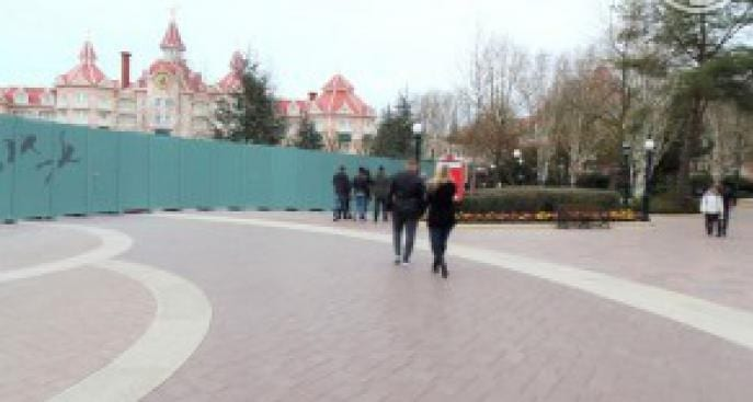 Disneyland Parijs record schuttingen