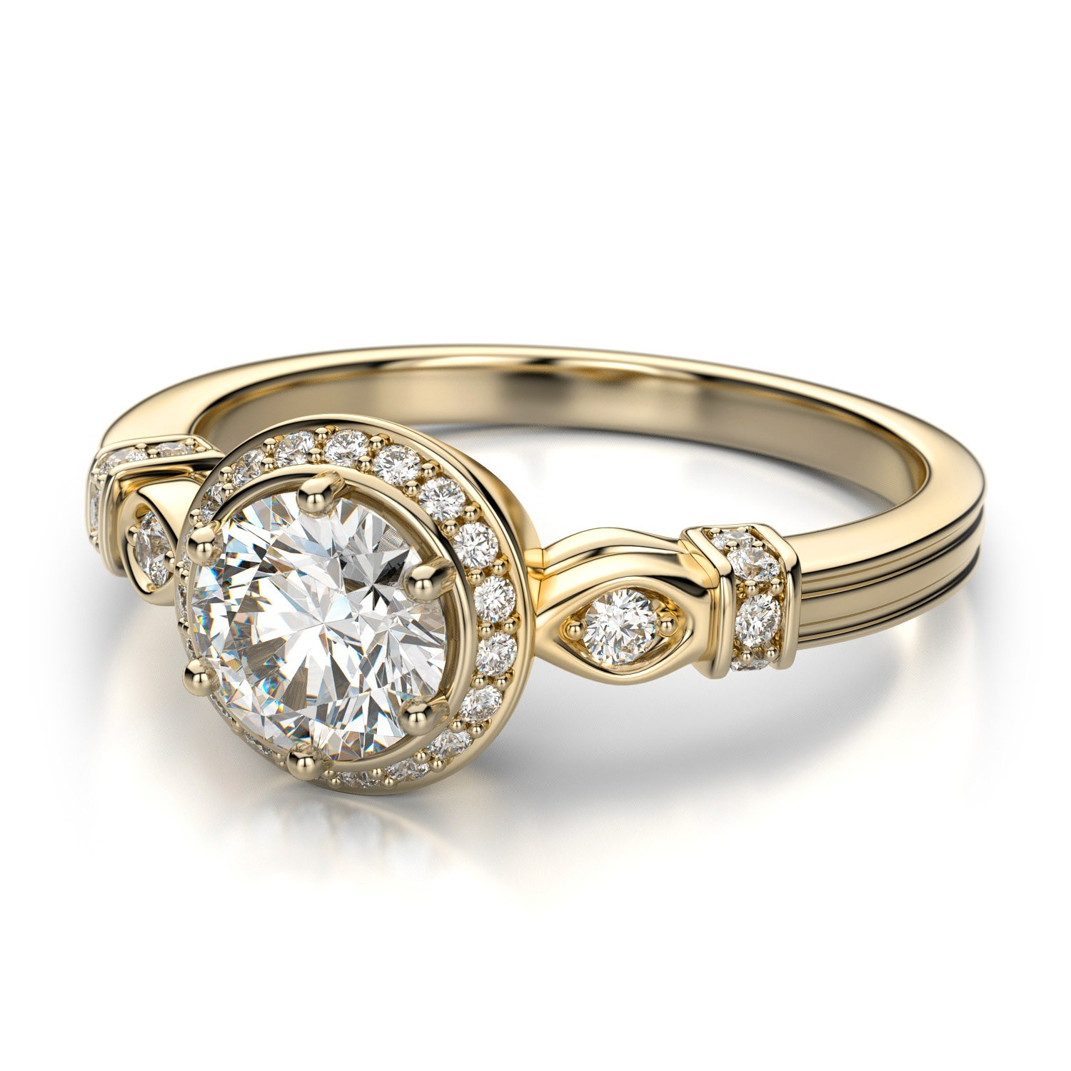 antique wedding rings antique wedding ring sets Antique Inspired Wedding Rings