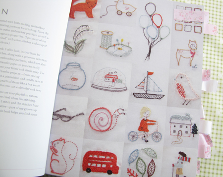 Page from Aneela Hoey's Little Stitches courtesy of 'Pretty by Hand'
