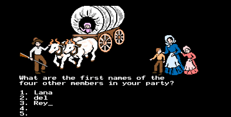 Lana Del Rey is the Oregon Trail
