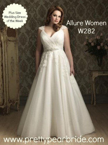 plus size bride, plus size bridal, allure women