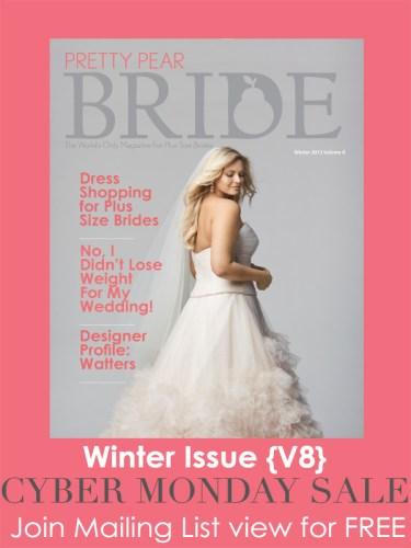 cyber monday sale, pretty pear bride magazine