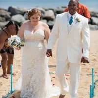 {Real Wedding Wednesday} Intimate Virginia Beach Wedding by T.Y. Photography