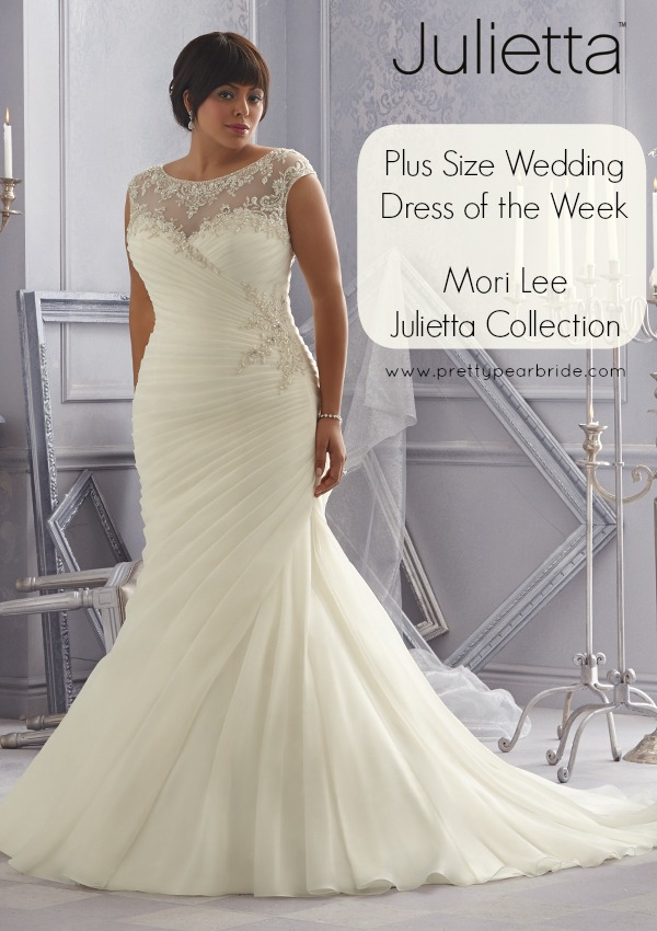 {Plus Size Wedding Dress of the Week} Julietta Spring 2015 Collection