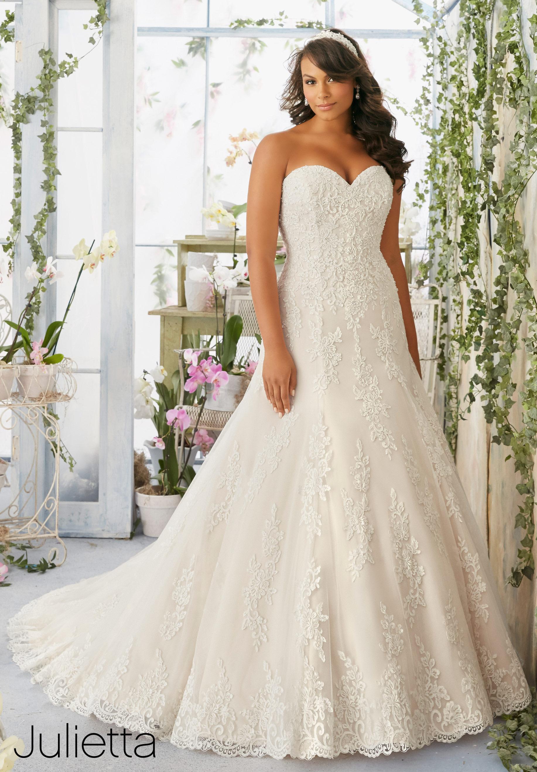 plus size wedding gowns mori lee julietta collection plus size wedding gowns plus size bridal gown