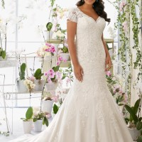 {Plus Size Wedding Gown of the Day} New Julietta Collection by Mori Lee