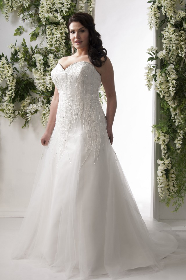 Plus Size Wedding Dress Stores Melbourne : The pretty pear bride plus size bridal magazine