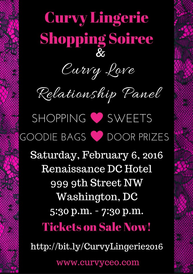 Pretty Pear Bride to Serve as Media Partner for 3rd Annual Curvy Lingerie Shopping Soiree