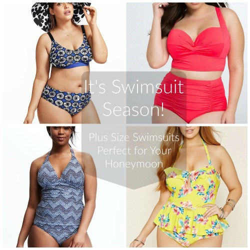 It's Swimsuit Season! |Plus Size Swimsuits Perfect for Your Honeymoon