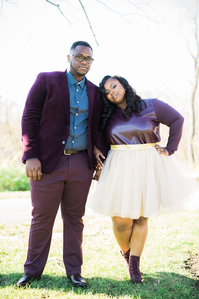 ENGAGEMENT | Ethereal Love in Downtown Columbus | Coley & Co Photography