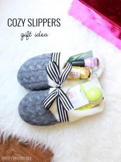 Cozy Slippers Gift Idea